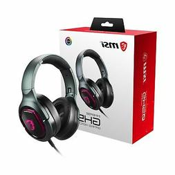 MSI Immerse GH50 GAMING Headset with 40mm Drivers and Detach