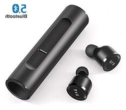 IPX7 True Wireless Earbuds,Shuua Bluetooth 5.0 Volume Touch