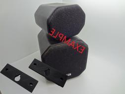 KLH Satellite Surround Sound Speaker wall mount brackets 8s