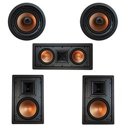 Klipsch 5.0 In-Wall System with with 2 R-5800-W II In-Wall S