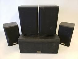 * Kenwood KS-706HT Surround Sound Speaker Set