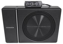 "Kenwood KSC-PSW8 250W Max  Single 8"" Under Seat Powered Subw"
