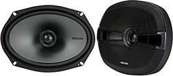 "Kicker KSC6904 KSC690 6x9 Coax Speakers with 1"" tweeters 4-O"