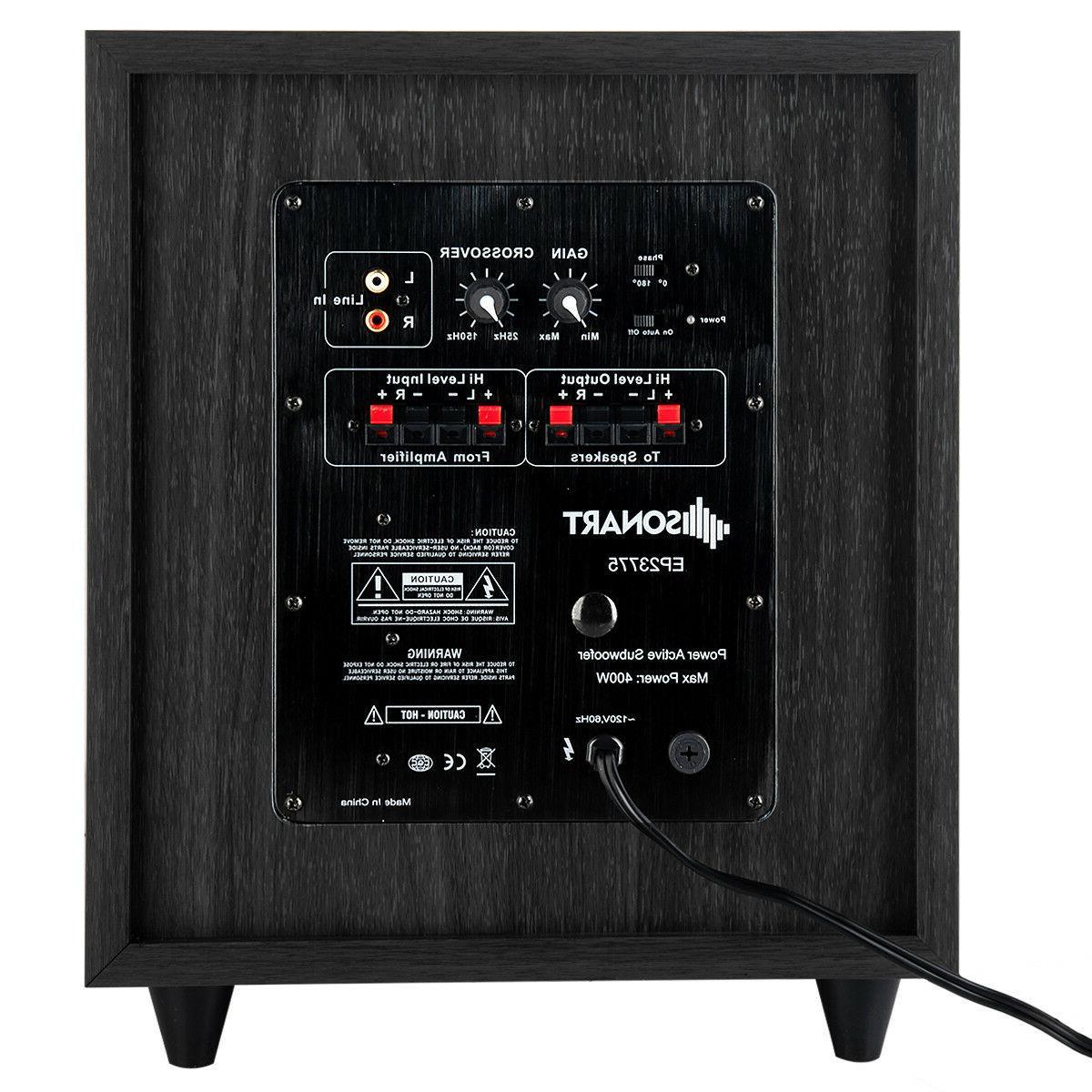 """10"""" 400W Powered Sound"""