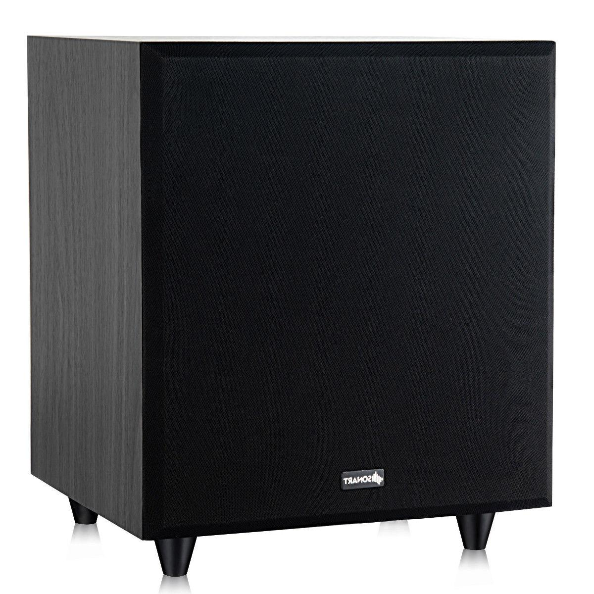 10 400w powered active subwoofer front firing
