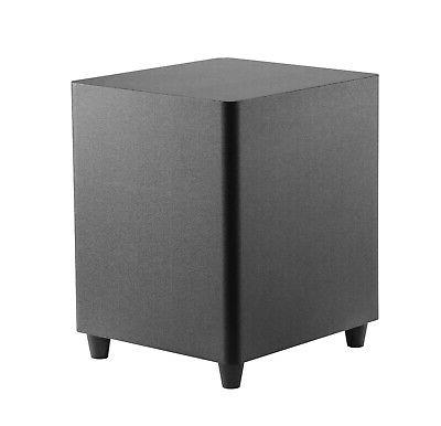 10 inch down firing powered subwoofer home