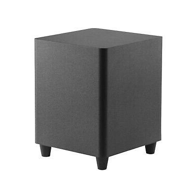 8 inch down firing powered subwoofer home