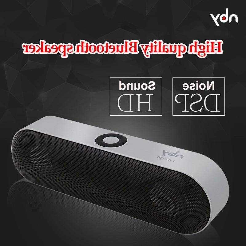 nby-18 Protable Bluetooth Speaker with 3D <font><b>Stereo</b></font> loudspeaker Outdoor Speakers
