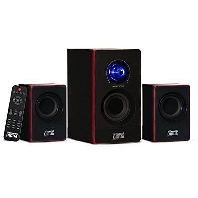 2 1 bluetooth speaker system 2 1