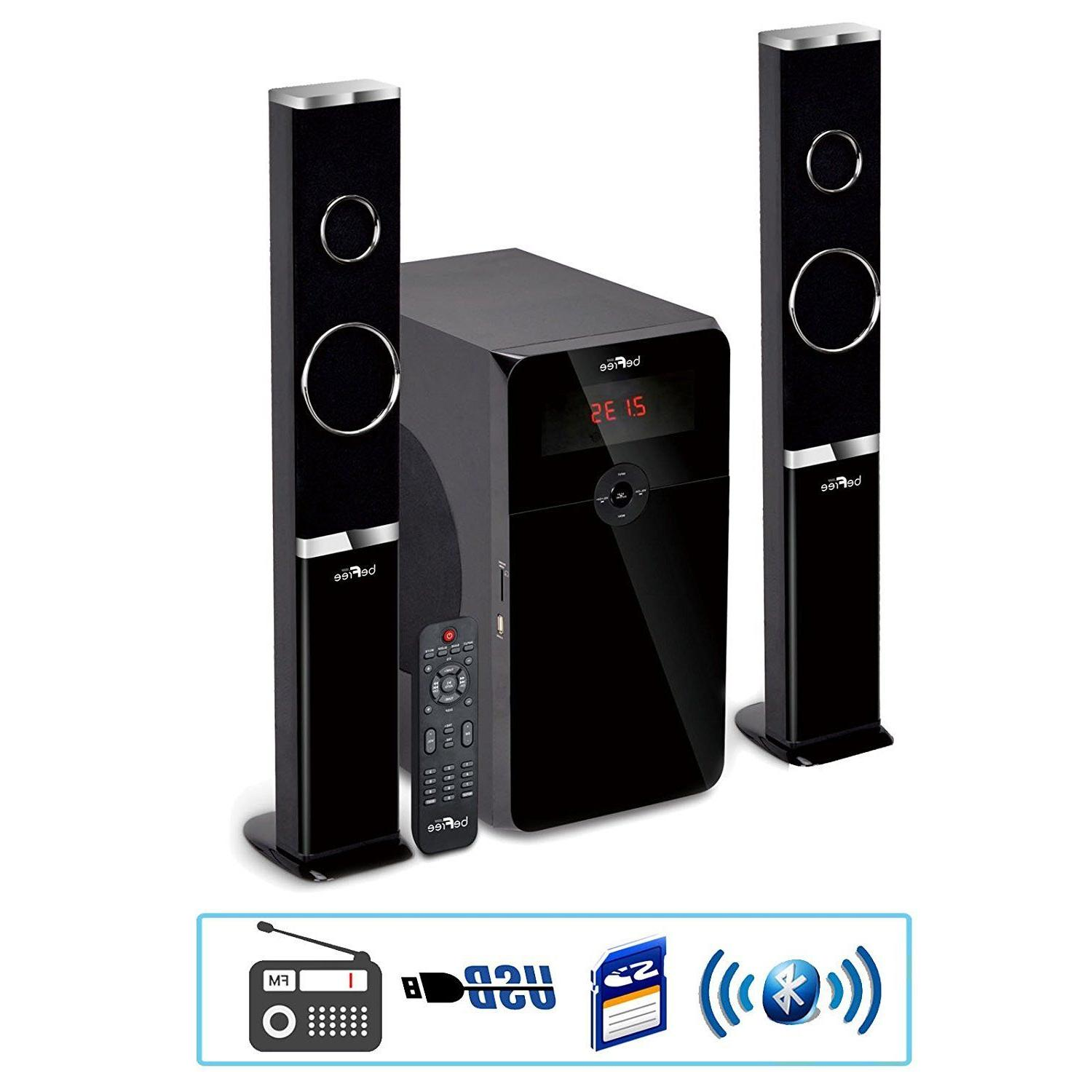 2 1 channel home theater surround sound