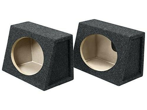 """2 Atrend 6X9PR x 9"""" Boxes Single Behind the Seat"""