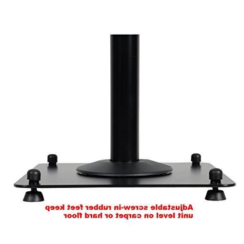 "VideoSecu duty PA Height Speaker Mount to 47"""
