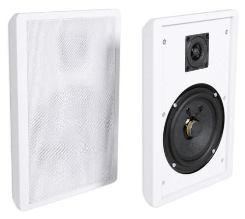 Pair Rockville Front+Rear Surround Shallow On-Wall