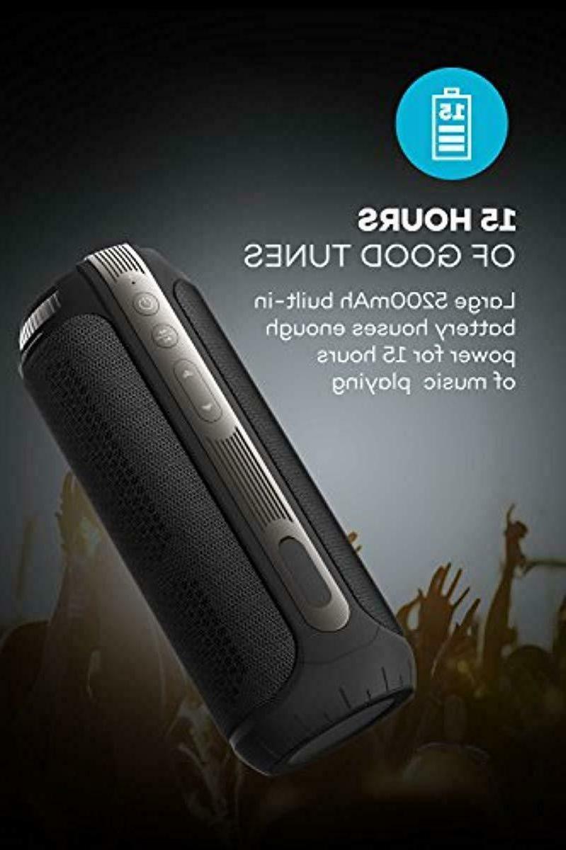 20W 15 Hours Loud Bluetooth Speakers, 360 Degree