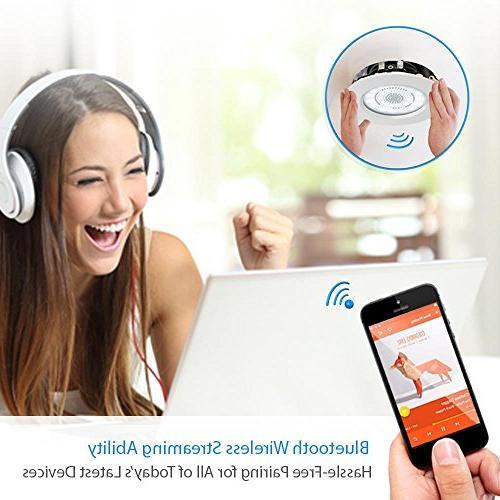 """3.5"""" Ceiling Speakers Range Stereo Flush Design Light Frame 60Hz - Response &"""