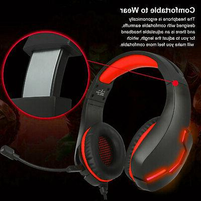 3.5mm Gaming LED MIC Wired One