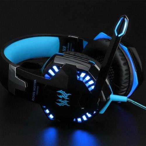 3.5mm Gaming Headset Mic LED FOR ONE 360E
