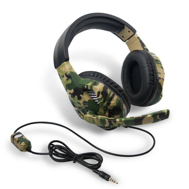3 5mm gaming headsets stereo surrounds headphone