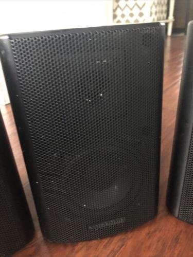 3 Indoor-Outdoor Speakers 100 watts