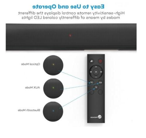 "31"" Blaster Wireless Bluetooth TV TaoTronics"