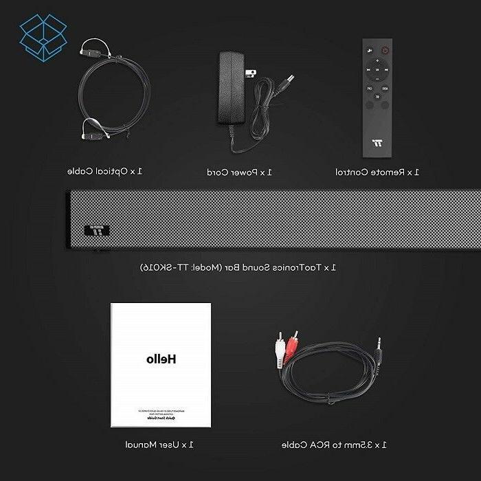 "36"" SoundBar 4-Speaker Bluetooth Surround"