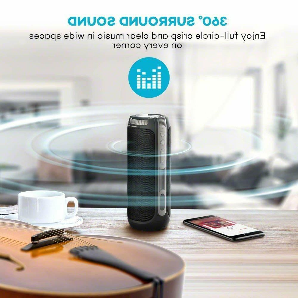 TaoTronics 360 Degree Sound Portable Speaker