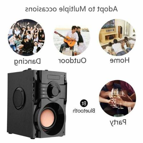 360° Surround Sound Bluetooth Stereo Subwoofer FM