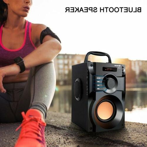 360° Bluetooth Speaker Stereo FM