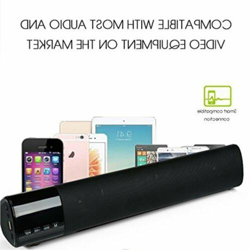 3D Sound Bar Speaker Subwoofer Bluetooth Box