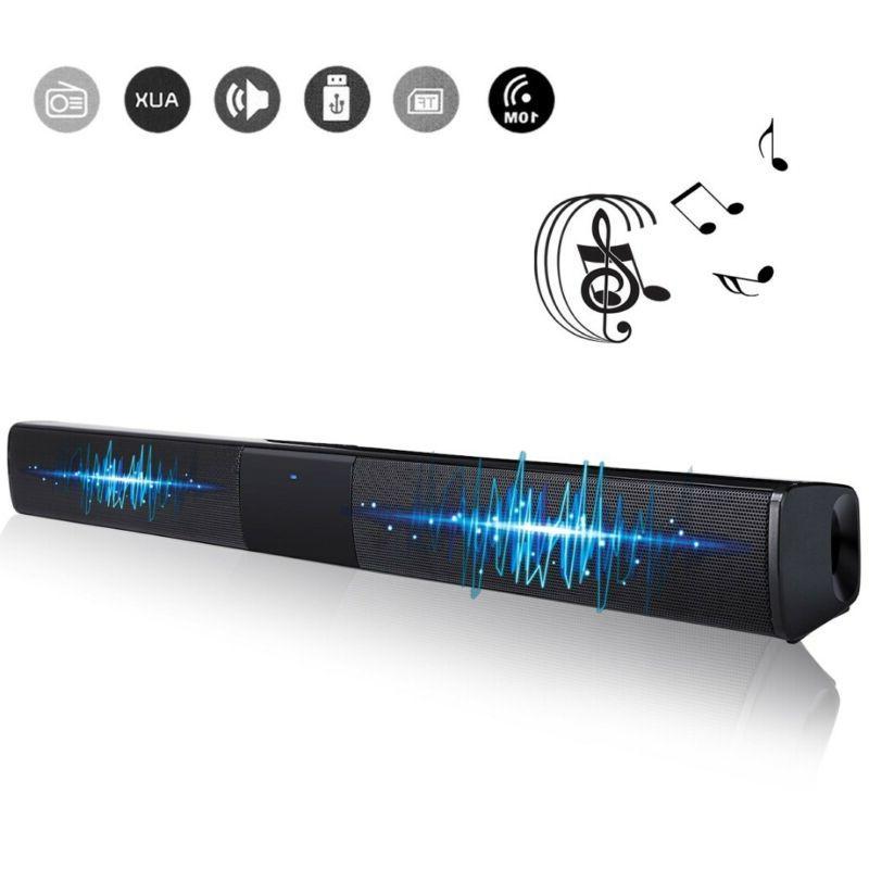 Wireless 3D Surround Sound 4* Subwoofer Blue tooth Soundbar