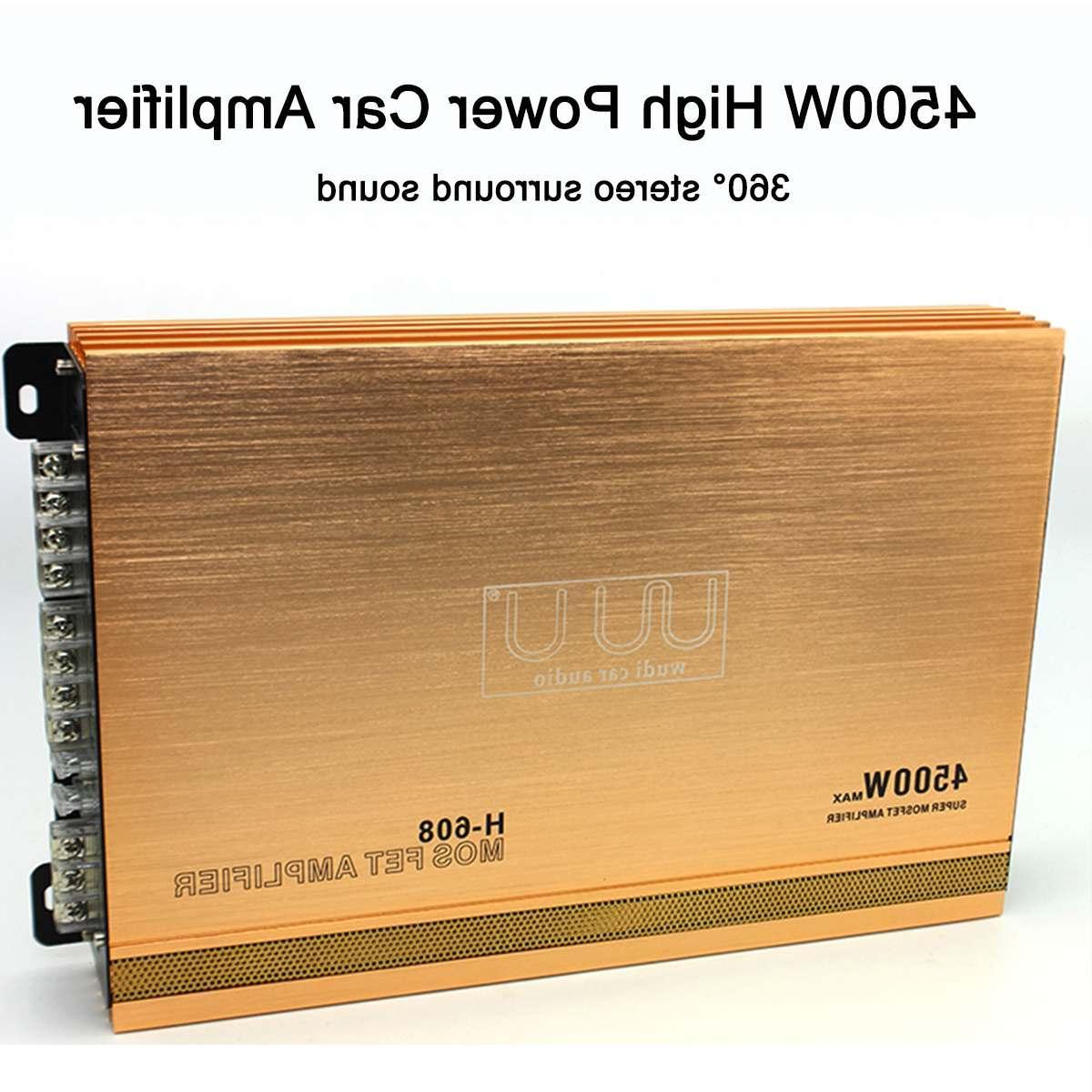 4 Channel High Power <font><b>Amplifier</b></font> Stereo <font><b>Surround</b></font> Audio <font><b>Amplifiers</b></font>