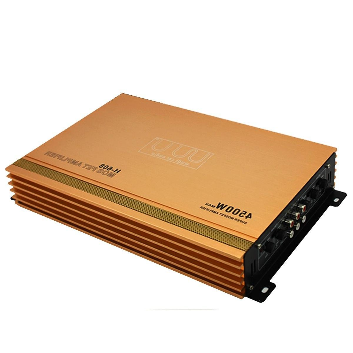 4 High Power <font><b>Amplifier</b></font> Stereo Fidelity Aluminum Alloy Audio <font><b>Amplifiers</b></font>