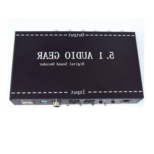 5.1 Channel Digital AC3/DTS For Home.1Pc