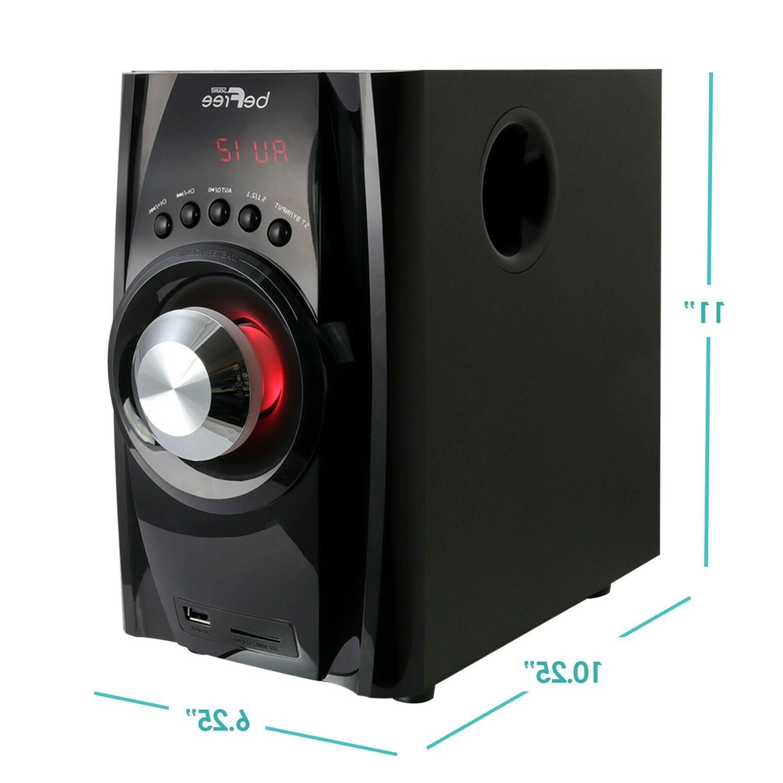5.1 BFS-410 SURROUND SOUND SPEAKER -