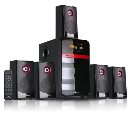 5 1 channel home theater surround sound