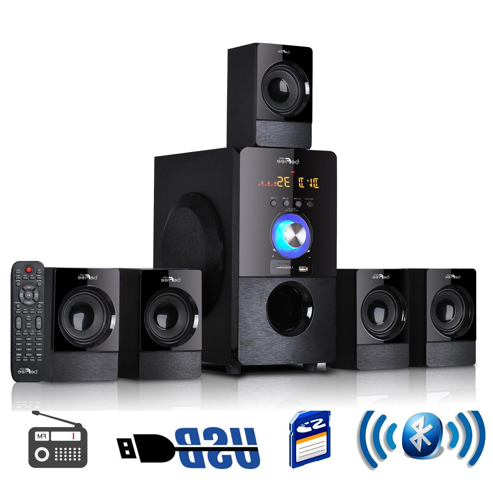 5.1 CHANNEL BEFREE SURROUND SOUND BLUETOOTH HOME THEATER SPE