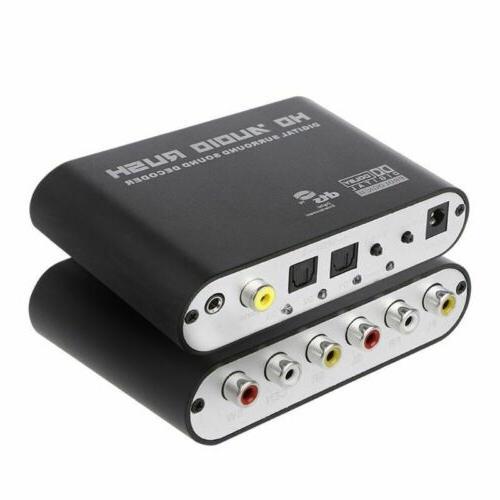DTS To RCA Rush Analog 5.1 Digital Audio