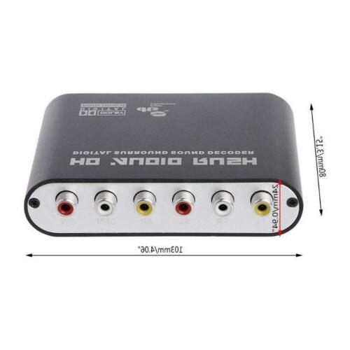 Rush Analog Converter 5.1 Audio