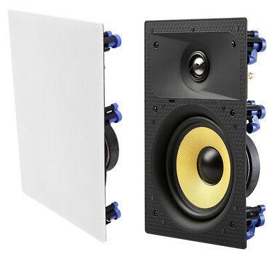TDX 2-Way Wall Sound Speaker White New