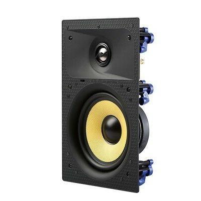 TDX Wall Sound Speaker Flush White New