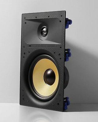 """TDX 8"""" Wall Surround Sound Speaker White"""