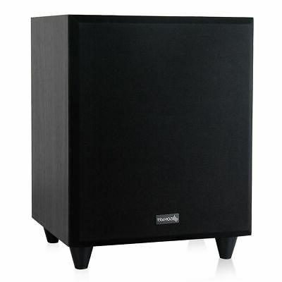 8 300w powered active subwoofer front firing
