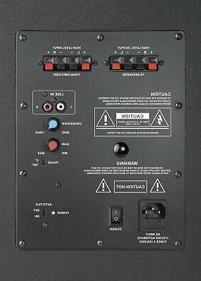 TDX 8-Inch Powered Surround