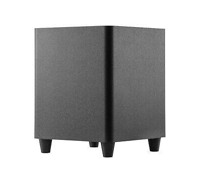 """TDX Down Powered Subwoofer Home Theater Surround 8"""""""