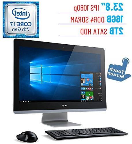 Acer Aspire AZ3 23.8'' Touch IPS  All-in-One Desktop PC