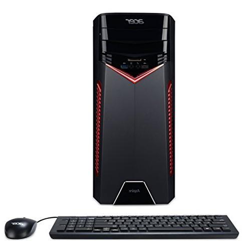 Acer GX-785-UC11 Core i7-7700 3.6GHZ 24GB 128GB SSD 1TB GeFo