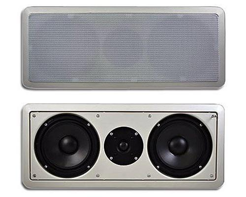 """Acoustic Audio CC6 In-Wall 6.5"""" Center Channel Speaker In Ce"""