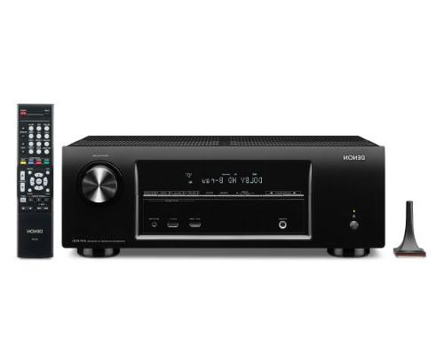Denon AVR-E300 5.1 Channel 3D Pass Through and Networking Ho