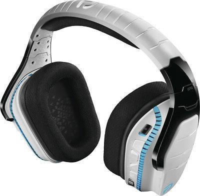 Logitech G933 Spectrum Snow Limited Edition Wireless Virtual Sound Ps4, Xbox One - White