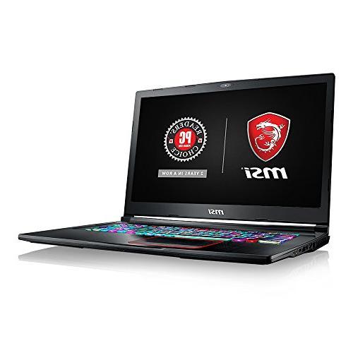 """MSI GE73 Raider-008 17.3"""" 120Hz 5ms Extreme Gaming Laptop i7"""